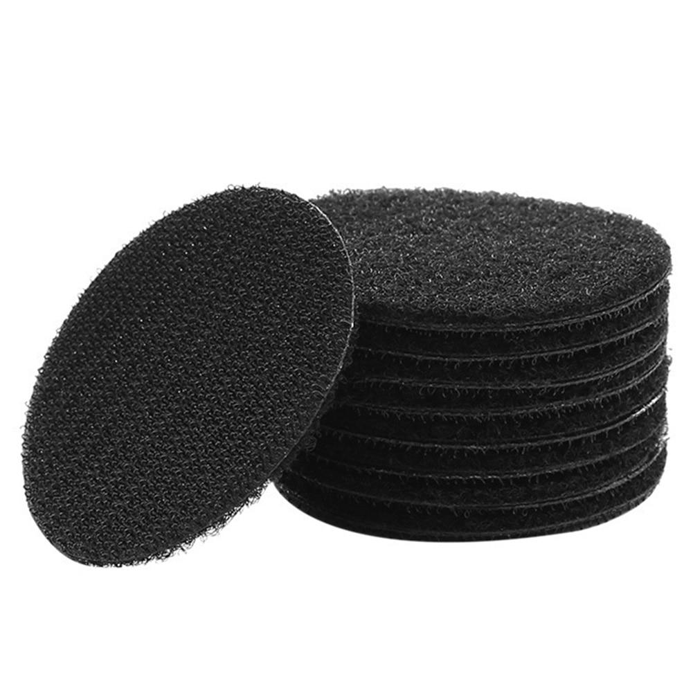 25 Pair Fixed Magic Sticker Fastener Tape PVC Self Adhesive Anti Slip Cushion Paste Solid Seamless Sofa Universal Home