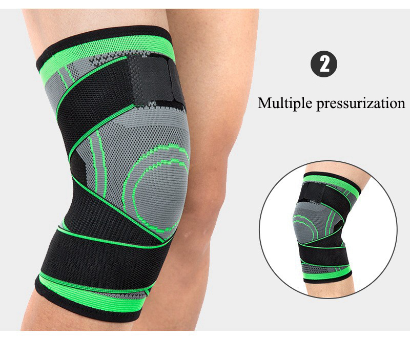 Kneepad Support Professional Protector Sports Knee Pads Breathable Bandage Knee Brace Basketball Tennis Cycling (1)