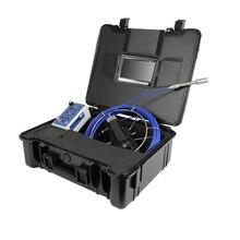 720P HD видео трубка дренажная для стока камера для исследования канализации системы 7'IPS экран 23 мм HD камера 5 мм счетчик метр кабеля DVR чемодан из АБС