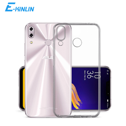 Clear Soft Silicone Back Cover For Asus ZenFone 6 ZS630KL 5Z 5 ZS620KL ZE620KL Ultra Thin TPU Phone Case