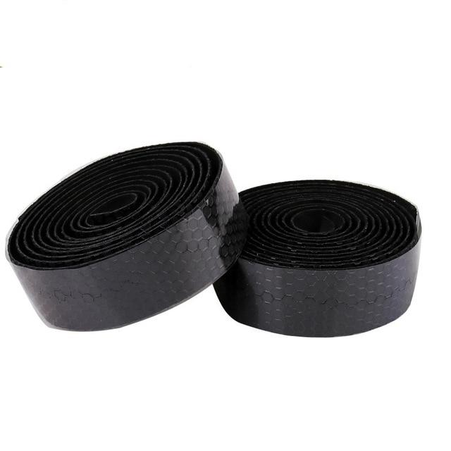 2pcs Sponge Road Bike Bicycle Handlebar Tape Camouflagebelt Cycling Handle Belt Cork Wrap with Bar Plugs non slip absorb sweat 5