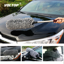 Super Microfiber Duster Brushes Car Wash Accessories Flexible Extra Long Soft Wheel Brush Cleaner