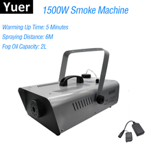 1500W Fog Machine /Smoke Machine/Professional Fogger For Wedding Home Party Stage Light Dj Equipment Free & Fast shipping