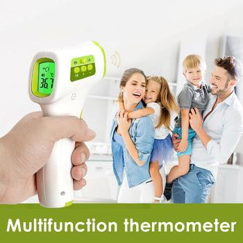 Infrared Baby/Adult Digital Forehead Thermometer Fever Alarm Temperature Meter