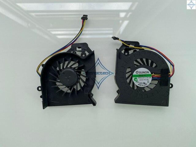 OEM nowy dla HP Pavilion DV6 DV6 6000 DV6 6100 DV7 DV7 6000 MF60120V1 C181 S9A KSB0505HB AJ77 AD6505HX EEB wentylator procesora laptopa