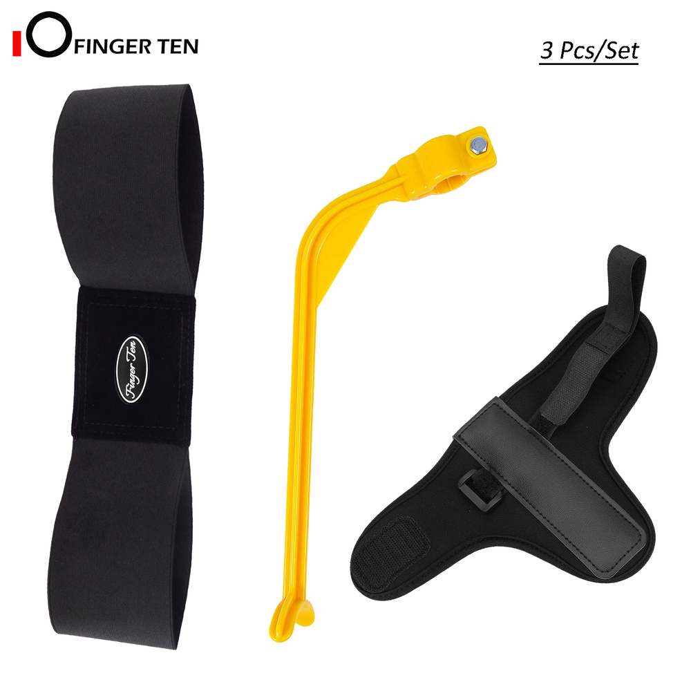 3 Pc/Set Golf Swing Training Aid Arm Band Yellow Trainer Wrist Support For Men Women Beginner Practice
