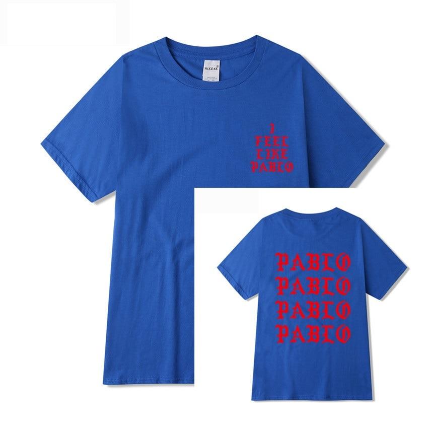 Jesus is King I Feel Like Pablo Streetwear T shirt  5