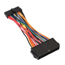 Cable-Cord for Dell 960/780/980/.. 2pc 24pin-Adapter ATX Mini To