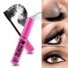 Fashion Black Mascara Eyelashes Makeup 4D Silky Lengthening Eye Cosmetics Waterproof Volume