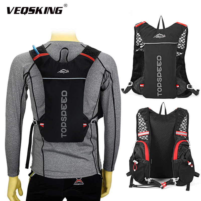 5L Trail Running Hydration Backpack,Local Lion Sport Jogging Backpack,Unisex Cycling Racing Marathon Running Bag