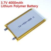 Batería de litio de polímero de 3,7 V, 606090 mAh, gran capacidad, tableta, ordenador, fuente de alimentación móvil, baterías DIY