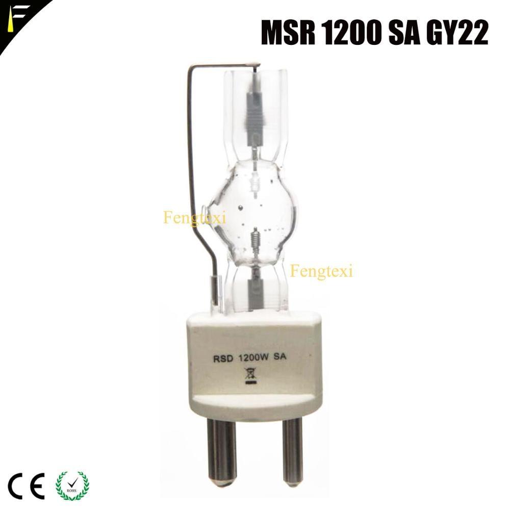 NSK1200SA 6000K Color White MSR1200SA 1CT/4 1200w AC Lamp G22/GY22 2Pin Stage Spot Light Prefocus Bulb Of Studio/Disco Universal