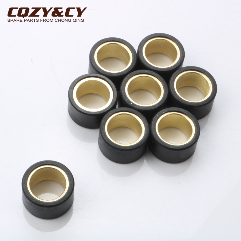 8pc Variator Racing Roller Weights 15gram 25x15mm For YAMAHA Majesty Abs 400 Yp X-Max  400 500 Xp T-Max Abs 530cc 5RU176325000