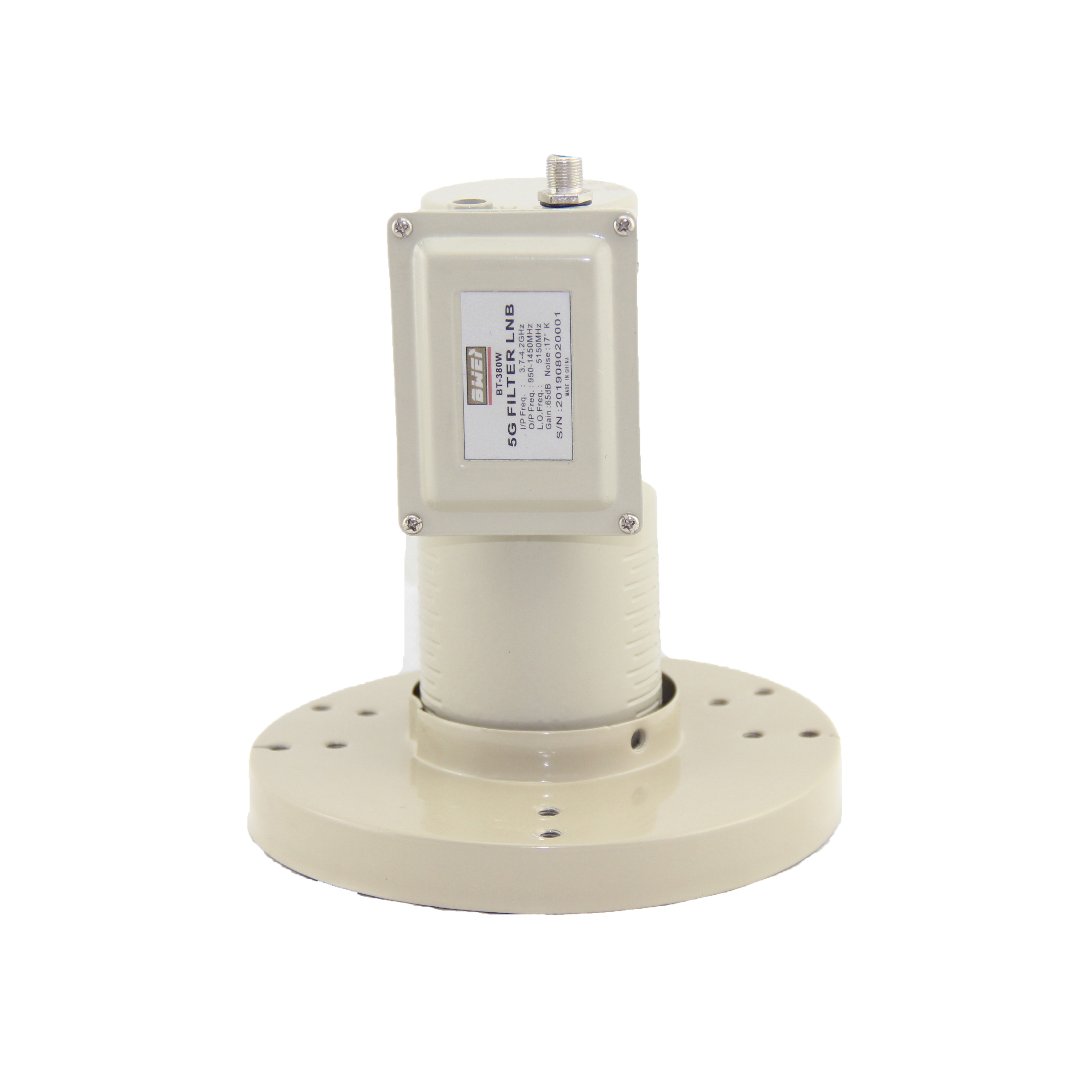 Input Frequency 3.7 To4.2GHz C Band LNB For Anti Interference With Wimax Filter