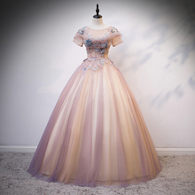 Ball-Gown Quinceanera-Dress Embroidery Party Vintage Lace New Gryffon Customize Luxury