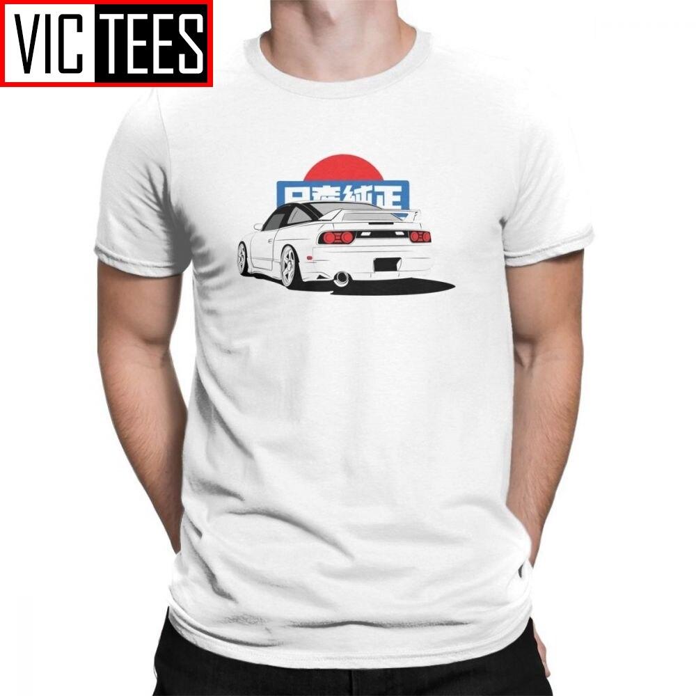 Men Elegant T-Shirts S13 JDM T Shirt Short Sleeved Custom Print Tee Guy Tall T-shirt Purified Cotton Soft Round Neck
