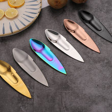 BalleenShiny Stainless Steel Kiwi Dig Spoon Scoop Vegetable Fruit Knife Slicer Peeler Cutter Papaya Avocado Knife Kitchen Tools(China)