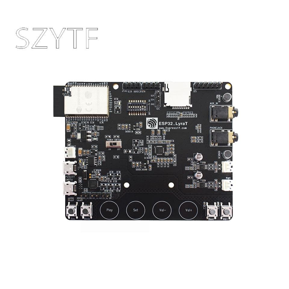 ESP32-LyraT pour les boutons d'outils de développement de circuits intégrés Audio, écran TFT et caméra prise en charge ESP32 LyraT ESP32-LyraT