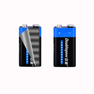 Image 4 - 2PCS Disposable Battery 6F22 9V Zinc Carbon Primary Battery for KTV Multimeter Microphone Electronic Devices Battery(AAA FREE)
