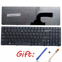 Novo PARA ASUS N53S N51T N53JQ N53S N53SV N53JQ N51V N53NB N70 G53Sw G72JH G53Sx K53Sj K54D K54SL russo RU teclado do Laptop preto