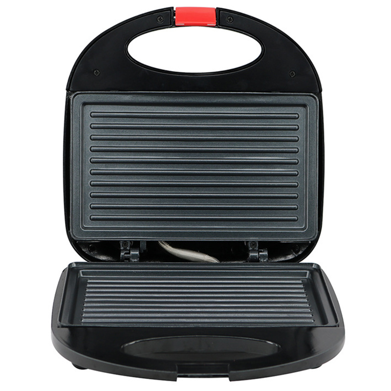 Electric Egg Sandwich Maker Mini Grilling Panini Baking Plates Toaster Multifunction Non-Stick Waffle Breakfast Machine UK Plug