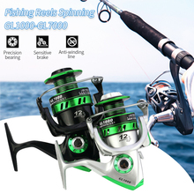 цены New Fishing Reels High Quality Spinning Ball Bearings Spinning Fishing Reel Right/Left Metal Spool Fishing Tackle 5:5:1