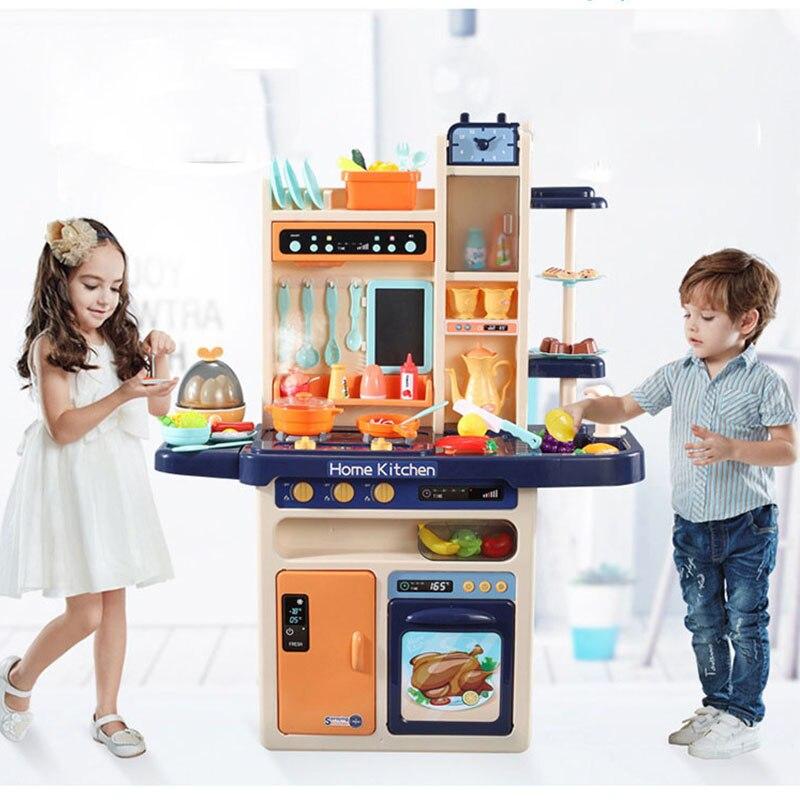 65 pces fingir jogar simulacao cozinha criancas 03