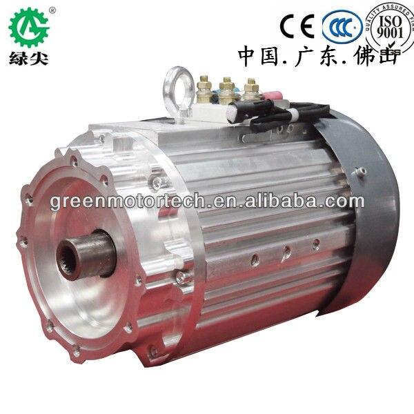 Heavy Duty Asynchronous AC Motor 10 KW For Electric Car Golf Car And Bus