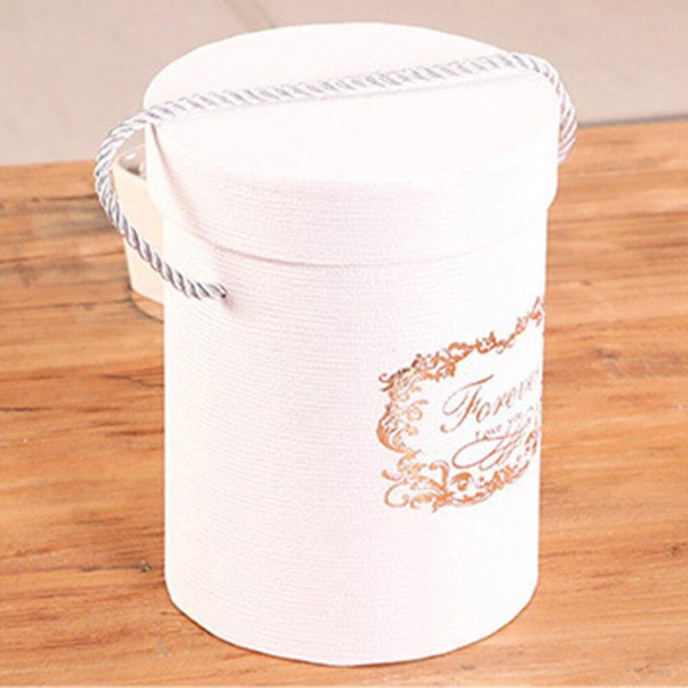 165*120 мм новые круглые бумажные коробки для цветов с крышкой, ведерко для цветов, подарочная упаковочная коробка, подарочные коробки для конфет, вечерние, Свадебные Поставки