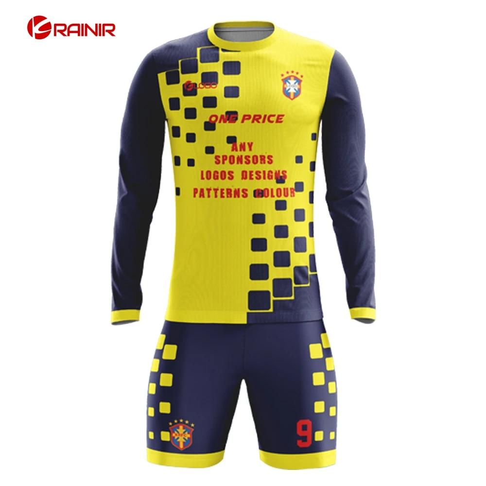 Authentic Football Kits Soccer Jerseys Design Custom Football Uniforms Fully Sublimation Soccer Jerseys