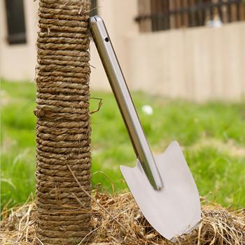 Narzędzia HS łopata ogrodowa ze stali nierdzewnej trwałe odkrywanie na zewnątrz Camping łopata łopata awaryjne narzędzie ręczne łopata ogrodowa tanie i dobre opinie hzxslx Wielofunkcyjny łopata i łopata STAINLESS STEEL HS-GT0019 Ogród łopata