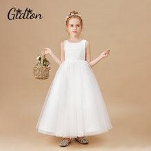 Элегантные Платья с цветочным принтом для девочек платья без