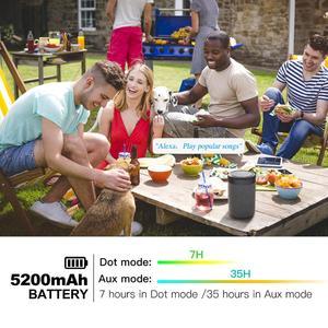 Image 4 - GGMM D7 Mạnh Mẽ Loa Di Động Pin Dành Cho Amazon Alexa Echo Dot (3rd Gen) pin 5200MAh Cho Echo Dot 3 7Hrs Chơi