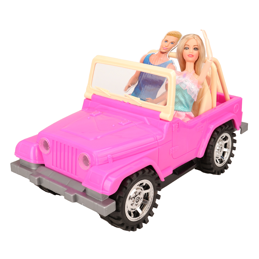 Newest Fashion High Quality 5 Items /set=doll +car Toy +dress Shoes Bag Accessories Clothes For Barbie Dolls Game Best Gift DIY
