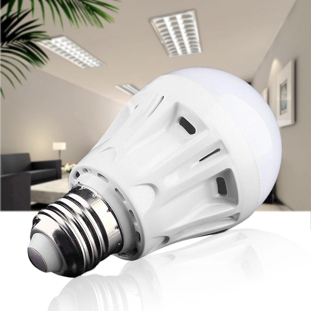 E27 LED Microwave Radar Motion Ambient Sensor Light Lamp Bulb AC85-265V 5W ZT