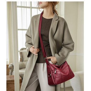 Image 2 - Brand Luxury Handbags Women Bags Designer Handbags High Quality Leaher Shoulder Crossbody Bags For Women 2018 Sac A Main Femme