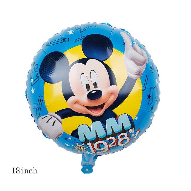 Mickey minnie mouse balloon cartoo