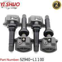 Auto TPMS Sensor Reifendruck Sensor Überwachung System 52940 L1100 Für Hyundai Sonata DN8 KIA Seltos 2019 2020 433Mhz 52940L1100