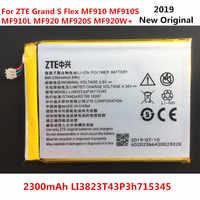 Bateria original 2000 mah li3820t43p3h715345 para zte grand s flex/para zte mf910 mf910s mf910l mf920 mf920s mf920w + bateria