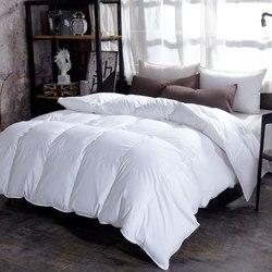 Chpermore 95% белое перо бархатное лоскутное одеяло одеяла пятизвездочные гостиничные зимние одеяла 100% хлопок покрывало король королева Твин По...