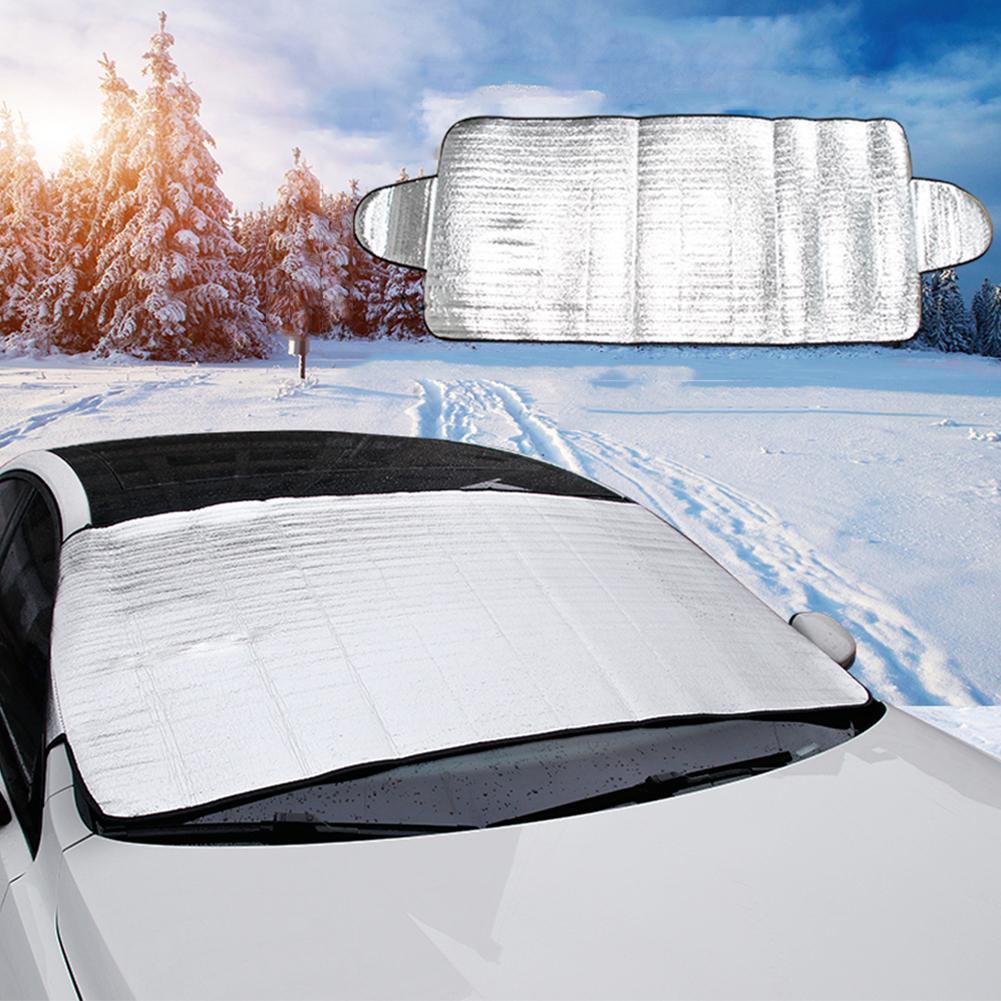Windshield Winter Sun Shade Ice Snow Shield Window Film Block Protector Visor Anti-frost Dust UV Front Folding Cover Windscreen