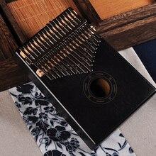 17 ключей Bull калимба большой палец пианино из красного дерева тела музыкальный инструмент лучшее качество и цена