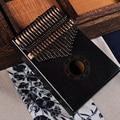 17 Keys Bull Kalimba Thumb Piano Mahogany Body Musical Instrument best quality and price