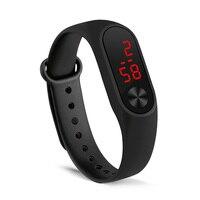 MEGALITH relogio masculino kobiety zegarek ręcznie pierścień zegarek mężczyźni Led sport mody zegarek elektroniczny zegar Reloj deportivo para mujer
