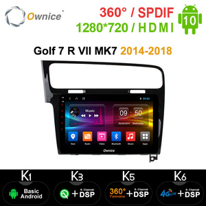 """Ownice 8Core 10.1"""" Android 10.0 Car DVD GPS Navi k3 k5 k6 for Volkswagen Golf 7 R VII MK7 2014-2018 Radio Stereo DSP SPDIF Audio(China)"""