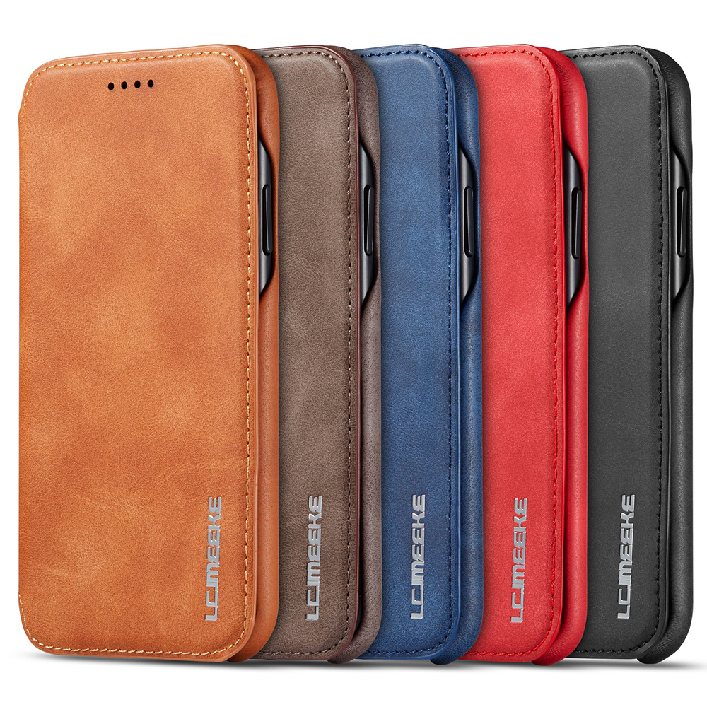 Capa For Iphone 11 2019 Flip Case For IPhone 11 Pro 11 Max 5.8 6.1 6.5 2019 XS XR X 6 7 8 Plus Magnetic Flip Kickstand Card Case