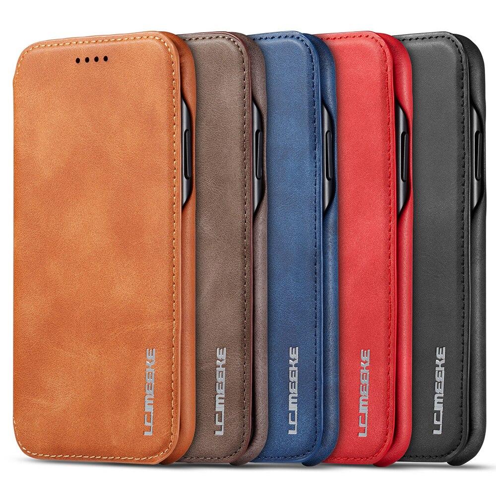 Capa para iphone 11 2019 caso da aleta para o iphone 11 pro 11 max 5.8 6.1 6.5 2019 xs xr x 6 7 8 plus magnética flip kickstand cartão caso