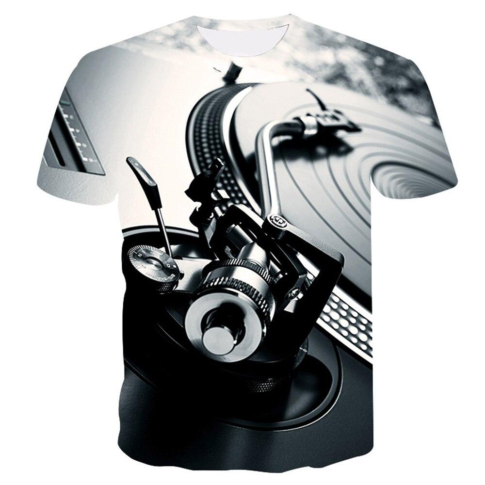Мужская футболка с забавным принтом, Повседневная футболка с коротким рукавом и круглым вырезом, модная мужская 3D футболка/женская футболка, высокое качество, брендовая футболка - Цвет: T1-1