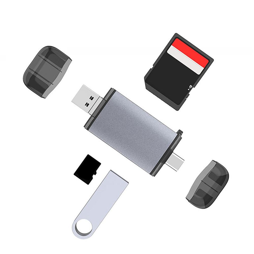 USB 3.0 SD Memory Card Reader SDHC SDXC MMC Micro Mobile T-FLASH Connector