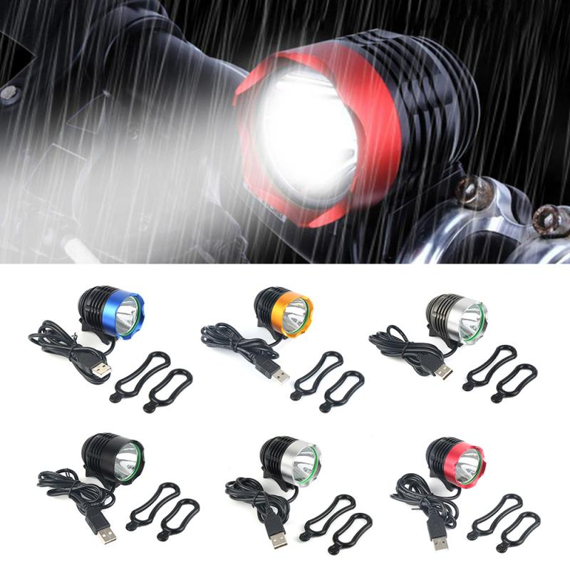 NEW <font><b>T6</b></font> <font><b>LED</b></font> 1200 Bike <font><b>Light</b></font> <font><b>Bicycle</b></font> Headlight Waterproof Bike <font><b>Light</b></font> Lamp Cycling Bike <font><b>Bicycle</b></font> Front <font><b>Light</b></font> Rechargeable <font><b>Light</b></font> image